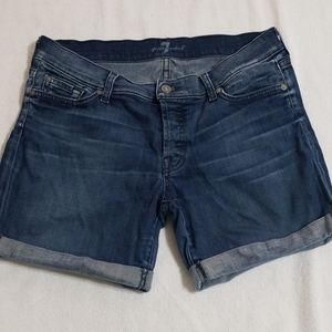 7 for all man kind shorts 30
